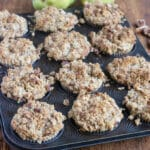 Pear Pecan Muffins with Oat Pecan Crumble