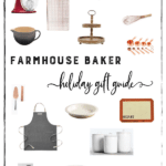 Farmhouse Baker Holiday Christmas Gift Guide from HomeSweetFarmHome.com. #giftguide #bakinggiftguide #bakergiftguide #farmhousegiftguide