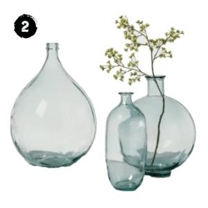 Turquoise Clear Vase Demijohn Spring Farmhouse Decor Guide