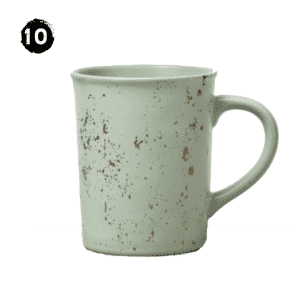 Stoneware Large Mug Green Speckled - Hearth & Hand™ with Magnolia Modern Farmhouse Spring Decor Guide