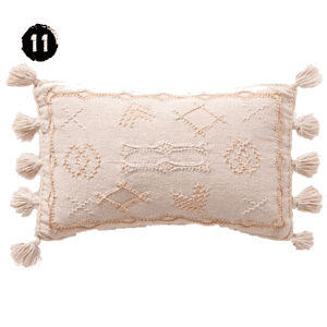 Joanna Gaines for Anthropologie Embroidered Sadie Pillow Modern Farmhouse Spring Decor Guide