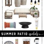 Summer Patio Essentials