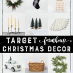 Target Farmhouse Christmas Decor