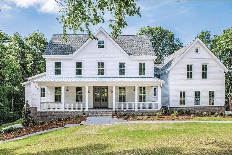 White Farmhouse