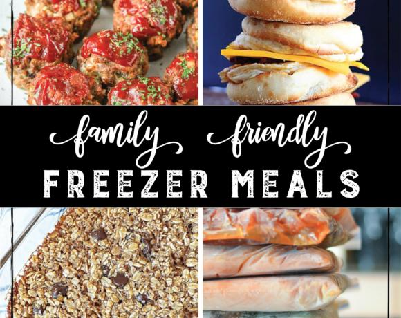 Family Friendly Freezer Meals