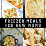 Freezer Meal Recipes for New Moms