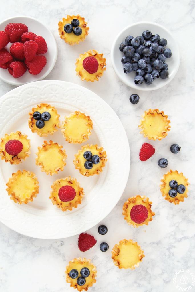Lemon Ricotta Mini Tarts