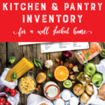 Kitchen & Pantry Inventory
