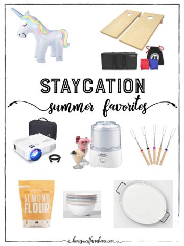 Staycation Summer Essentials
