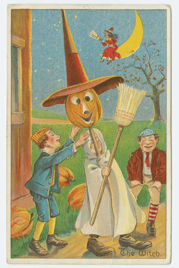Free vintage halloween images