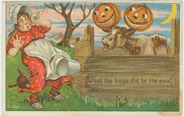 Free antique halloween autumn printables