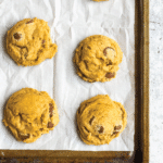 Chewy Pumpkin Chocolate Chip Cookies Easy