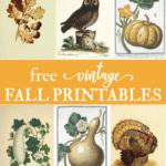 Free antique fall art