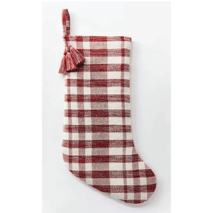 Studio McGee Target Christmas Décor Red Stocking