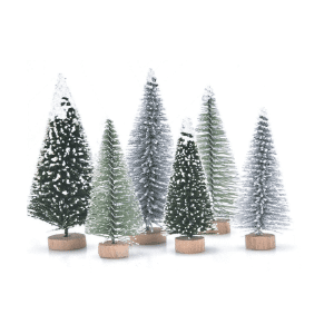 Amazon Christmas Prime Décor Bottle Brush Trees