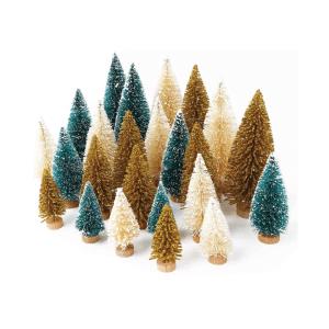 Amazon Holiday Décor Bottle Brush Trees