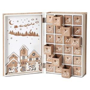 Amazon Christmas Décor Wooden Advent Calendar