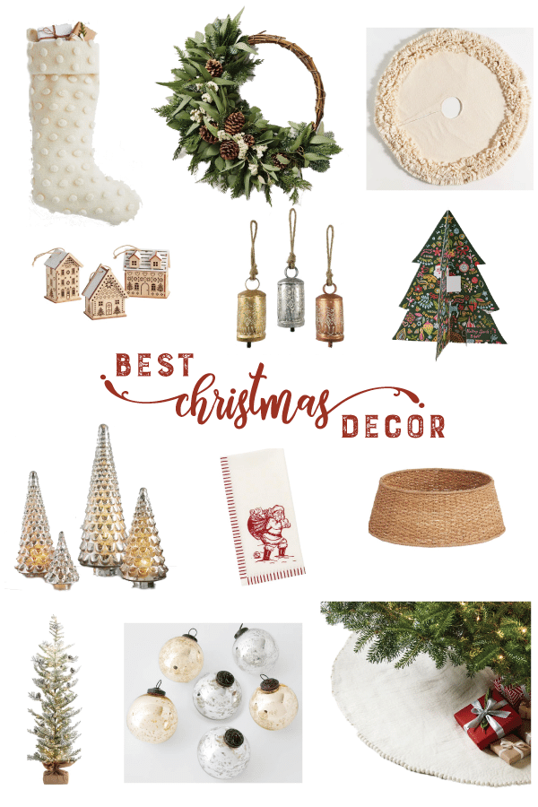 Best Christmas Decor Collage