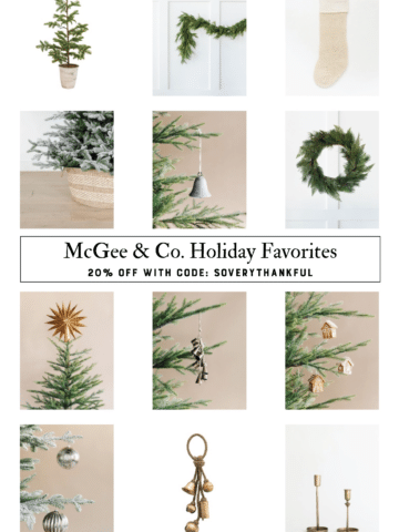 McGee & Co. Black Friday Holiday Sale Finds