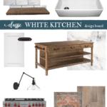 classic white kitchen layout design
