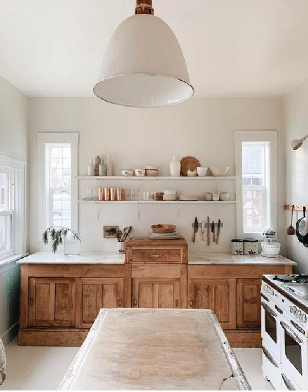 classic white farmhouse kitchen inspiration design