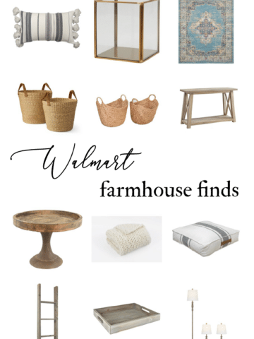 Farmhouse home decor from walmart