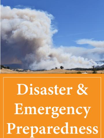 Disaster and emergency preparedness
