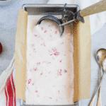Strawberry & Crème Fraiche Ice Cream