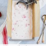 Strawberry and Crème Fraiche Ice Cream Recipe