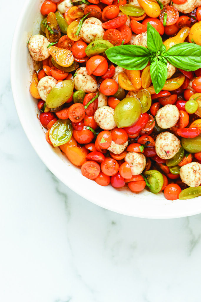 Tomato Caprese Salad with Balsamic
